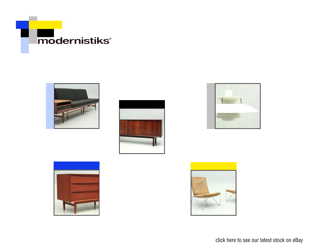 Modernistiks retro furniture